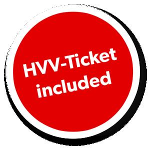 HVV-Ticket für den öffentlichen Nahverkehr Hamburg bereits im Preis enthalten
