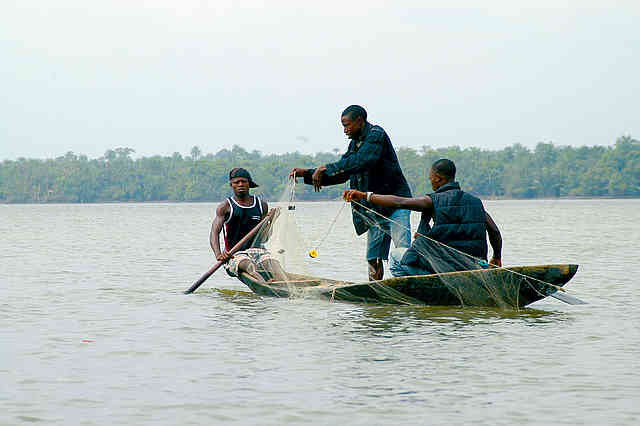 Calabar is known for its fishing.